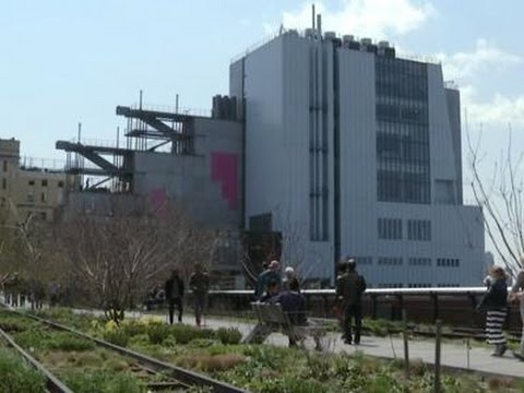 Whitney Museum Gets New Home Near the High Line News Video