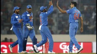 India won by 1 run ,India Vs Bangladesh ICC T20 full Highlights