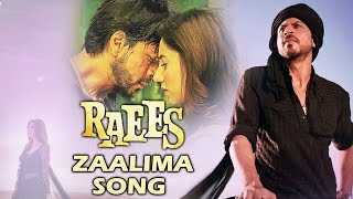 62f0f97666ca2 Watch Shahrukh Khan Sings ZAALIMA Song For RAEES