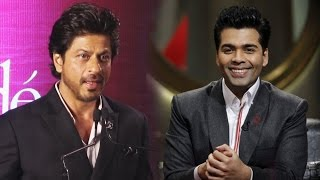 Shahrukh Khan OPENS On His BONDING With Karan Johar At Book Launch