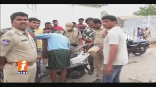 Carden Search In Manuguru Mandal Villages | 2 Tractors & 22 Two Wheelers Seized | Kothagudem | iNews