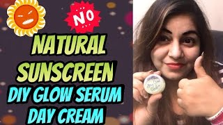 DIY Glow Serum for BEAUTIFUL skin - (Oily, Dry Skin) - Homemade NATURAL Sunscreen