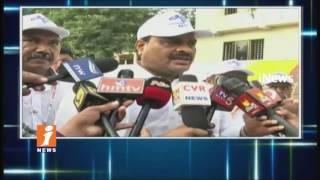 Minister Acham Naidu Participated National Handloom Day Celebrations In Vijayawada   iNews