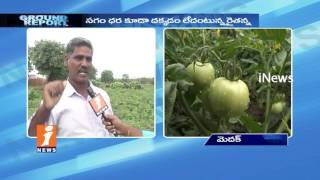 Tomato Farmers Demands Support Price In Vegetable Markets In Medak   Ground Report   iNews