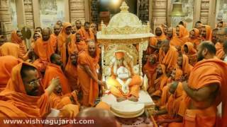 BAPS Head Pramukh Swami Maharaj's Demise, Politicians & Devotees Throng Sarangpur