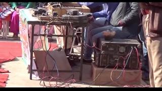 बिजली चोरी से चले बी.जे.पी. की रैली में 'माइक'