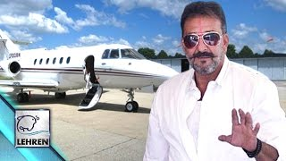 Sanjay Dutt Takes Chartered FLIGHT After Release From Jail