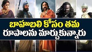 9 Star Characters Of Bahubali Before And After   Baahubali 2 Trailer   Prabhas   Top Telugu TV