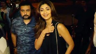 Shilpa Shetty's DINNER DATE With Hubby At Bastian Restaurant