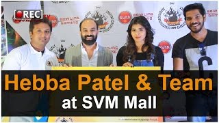 Hebah Patel and Team at SVM Mall || Latest tollywood photo gallery