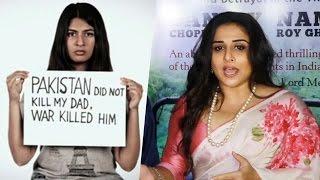 Vidya Balan REACTS To Gurmehar Kaur Controversy | Virender Sehwag, Randeep Hooda