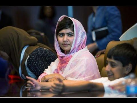 Malala pleads for Syria's children | World risks losing generation of Syrian children News Video