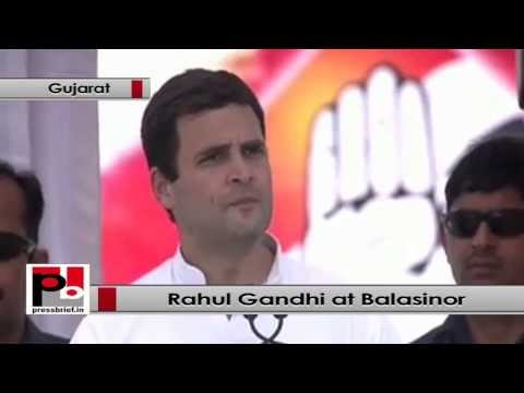 Rahul Gandhi - Real leader goes to people and understands their problems