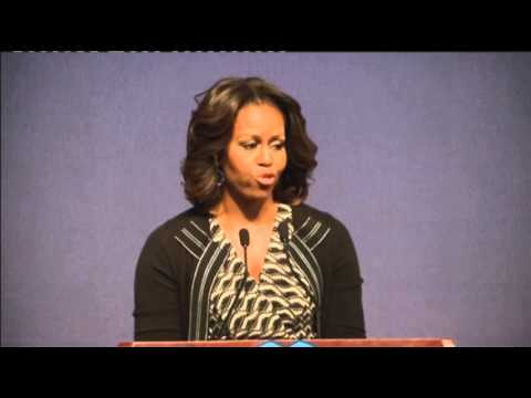 First Lady to Chinese Students- Aim High News Video