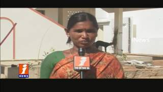 Double Bedrooms Completed in KCR Adopted Villages Yedavalli and Narasaraopet | iNews