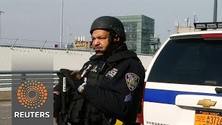 A show of force at JFK airport News Video