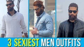3 Most STYLISH OUTFITS for MEN (Easy Mens FASHION TIPS to look SEXY)