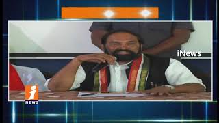 TPCC Chief Uttam Kumar Reddy Singareni Speaks To Media Over SCCL Elections In Telangana | iNews