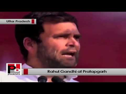 Rahul Gandhi- All our schemes and policies are aimed at empowering the people