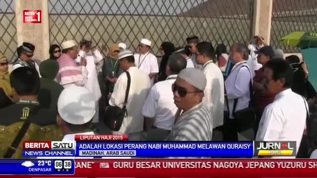 Para Jemaah Haji Kunjungi Jabal Uhud di Madinah