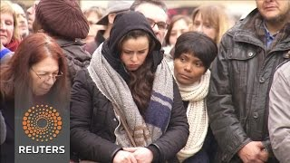 Brussels holds moment of silence for attack victims News Video