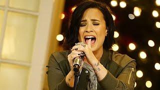 Demi Lovato Plays Hide-n-Seek, Performs & Talks Grammys on Corden's Late Late Show Season Finale