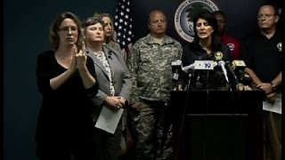 Gov. Haley: 'It is Hard to Look at the Loss'