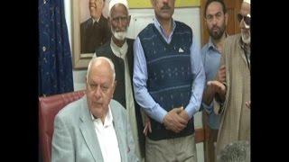 श्रीनगर जीतने के बाद फारुख की पहली पार्टी की बैठक