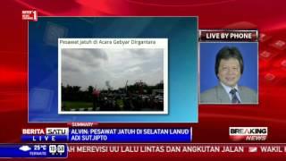 Breaking News: Pesawat TNI AU Jatuh Saat Akrobat di Yogyakarta