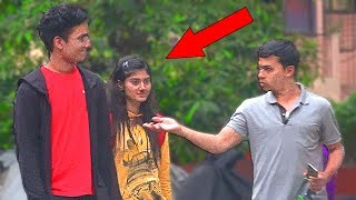 Giving Girlfriend To Strangers PRANK IN INDIA |  Social Experiment n Pranks in India