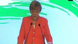 Angela Merkel addresses business forum, pitches for stronger Indo- German relations (Part - 2)