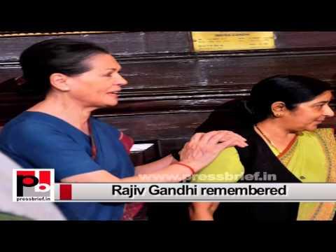 Rajiv Gandhi, a great visionary who saw far ahead than his contemporaries