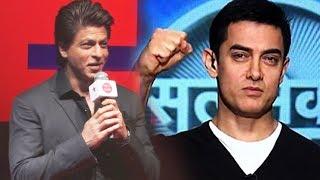 Shahrukh Khan PRAISES Aamir Khan's Satyameva Jayate At TED Talks Press Conference