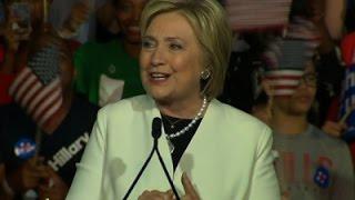 Analysis- Clinton, Trump Push Toward Nominations News Video