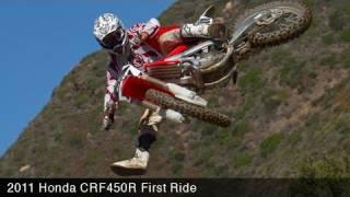 Honda CRF450R First Ride