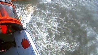 Raw- Coast Guard Rescue of Fishing Vessel in NY News Video
