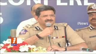 Telangana DGP Anurag Sharma Comments on Crime Rate | iNews