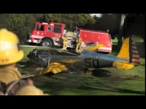 Harrison Ford plane crash- Doctor feared 'Fireball' News Video