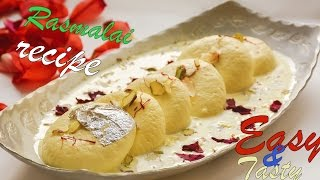 rasmalai recipe / bengali mithai recipe
