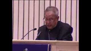 President Pranab Mukherjee's address (Part 2) on National Voters' Day 2014 at Vigyan Bhawan