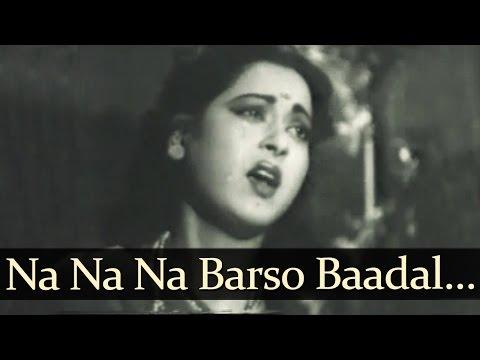Na Na Na Barso Badal - Samrat Prithviraj Chauhan Songs - Jairaj - Anita Guha - Lata Mangeshkar - Bollywood Old Song