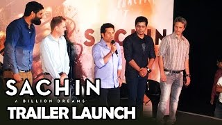 Sachin A Billion Dreams Trailer Launch | Sachin Tendulkar | Press Conference