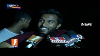 Private Engineering College Students Celebrates Fest In Hyderabad | Metro Colors | iNews