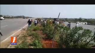 Road Accident at Medchal | Bolero Hits Pedestrians | Three Killed | iNews
