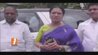 Congress MLA DK Aruna Demands Release Water From Jurala Project For Farmers | iNews