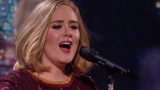 Brit Awards 2016- Adele's Performance At The Brit Awards Was Incredible