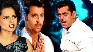 Kangana's SHOCKING Statement Against Salman, Bollywood SUPPORTS Hrithik Roshan