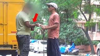 Stealing Money From Blind - Social Experiment | TamashaBera
