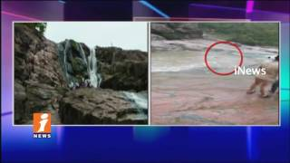 Two Youth Fell Into In Kuntala Waterfalls   One Body Found   Adilabad   iNews