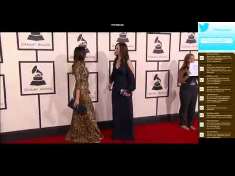 Grammy Awards 2014 Full Show - Shauna and Sarah Dodds   Grammys 2014 Red Carpet Photo shoot